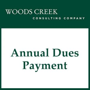 Annual Dues Payment