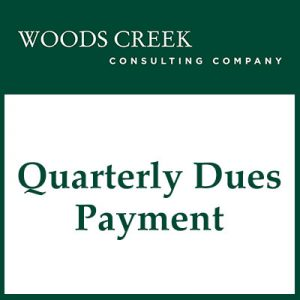 Quarterly Dues payment